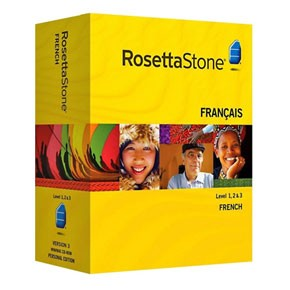 Rosetta Stone French Level 1, 2, 3 Set