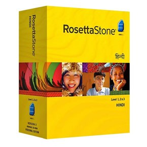 Rosetta Stone Hindi Level 1, 2, 3 Set