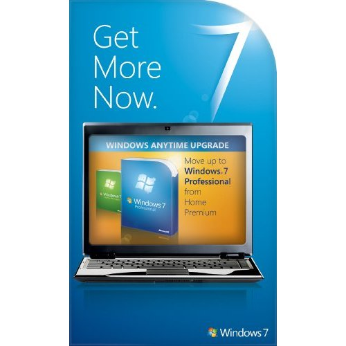 Windows 7 Starter to Professional Anytime Upgrade