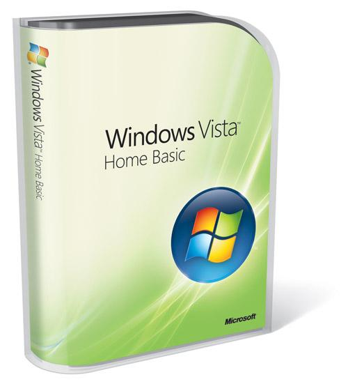 Microsoft Windows Vista Home Basic With SP2
