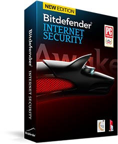 Bitdefender internet security (3 years 3 pcs)