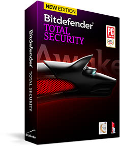 Bitdefender total securtiy (2years 3pcs)