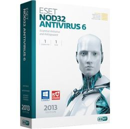eset nod32 antivirus (1 years 2user)