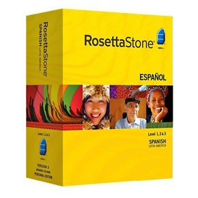 Rosetta Stone Spanish (Latin America) Level 1, 2, 3, 4, 5 Set