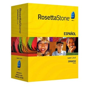 Rosetta Stone Spanish (Spain) Level 1, 2, 3 Set
