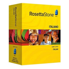 cheap Rosetta Stone Italian Level 1, 2, 3 Set