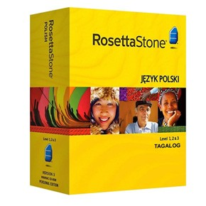Rosetta Stone Filipino (Tagalog) Level 1, 2, 3 Set