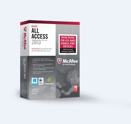 cheap McAfee All Access (1PC-1Year)