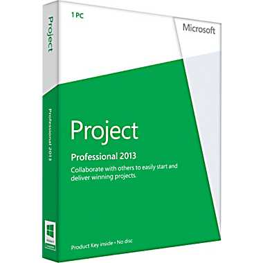cheap Microsoft Project Professional 2013