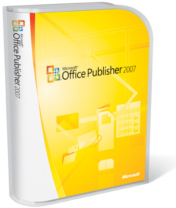 cheap Microsoft Office Publisher 2007