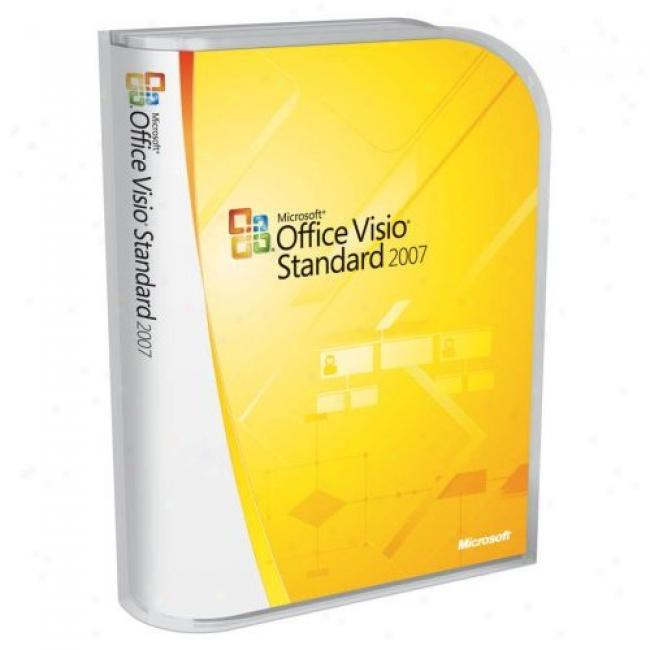 cheap Office Visio Standard 2007